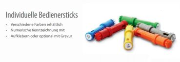Kruse SchlüsselManager Bedienersticks